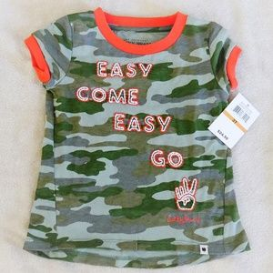 NWT Toddler Girl's Graphic Tee, Size 3T